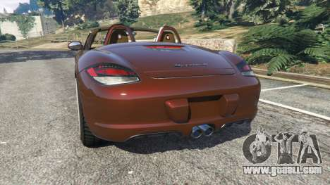 GTA 5 Porsche Boxster S 987 2010 rear left side view