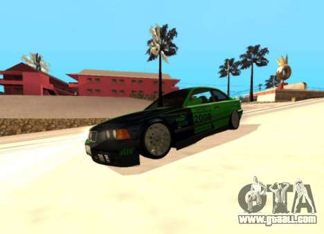 BMW E36 320i for GTA San Andreas back view