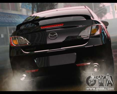 Mazda 6 Sport for GTA 4 left view