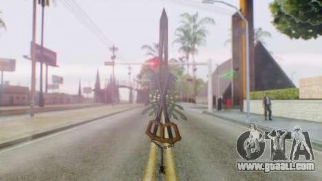 KHBBSFM - X-Blade for GTA San Andreas third screenshot