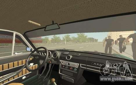 VAZ 2103 Sport tuning for GTA San Andreas bottom view