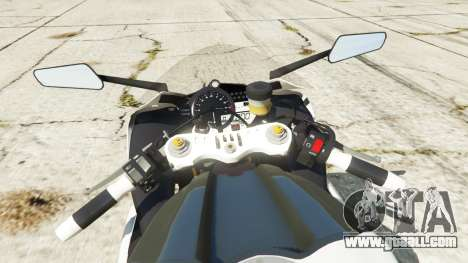 GTA 5 Yamaha YZF-R1 2014 rear right side view