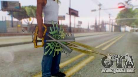 KHBBSFM - X-Blade for GTA San Andreas