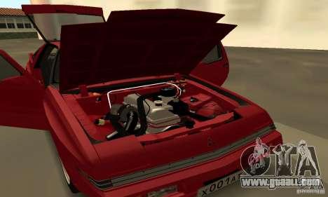 Mitsubishi Starion ECI-R for GTA San Andreas back left view