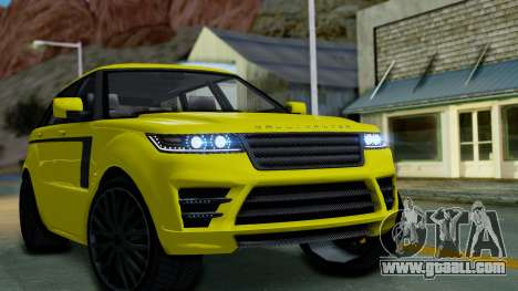 GTA 5 Gallivanter Baller LE for GTA San Andreas