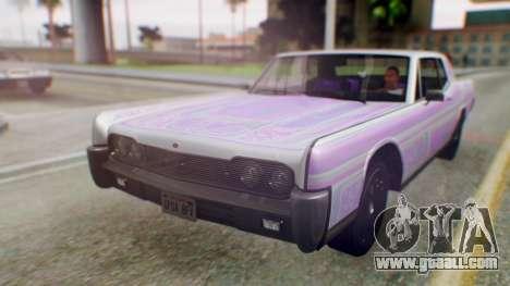 GTA 5 Vapid Chino Tunable PJ for GTA San Andreas side view
