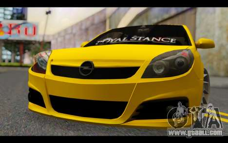 Opel Vectra Special for GTA San Andreas back view
