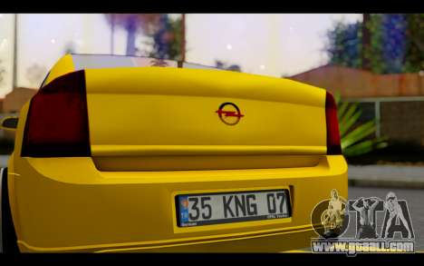 Opel Vectra Special for GTA San Andreas inner view