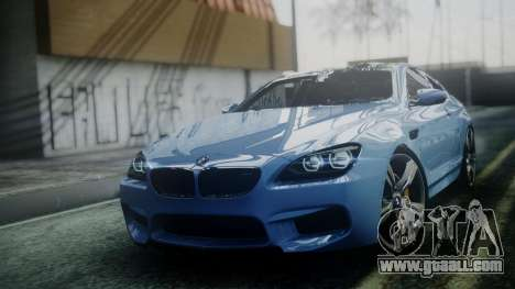 BMW M6 2013 for GTA San Andreas right view