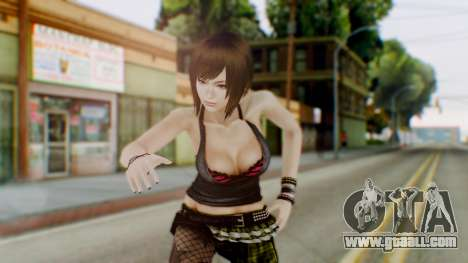 Fatal Frame 4 Misaki Punk Outfit for GTA San Andreas