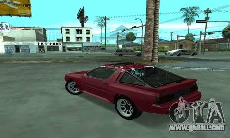 Mitsubishi Starion ECI-R for GTA San Andreas left view