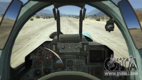 GTA 5 Su-33 third screenshot
