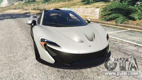 McLaren P1 2015 for GTA 5
