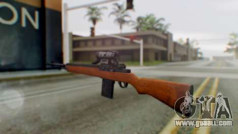 Arma2 M14 Assault Rifle for GTA San Andreas second screenshot