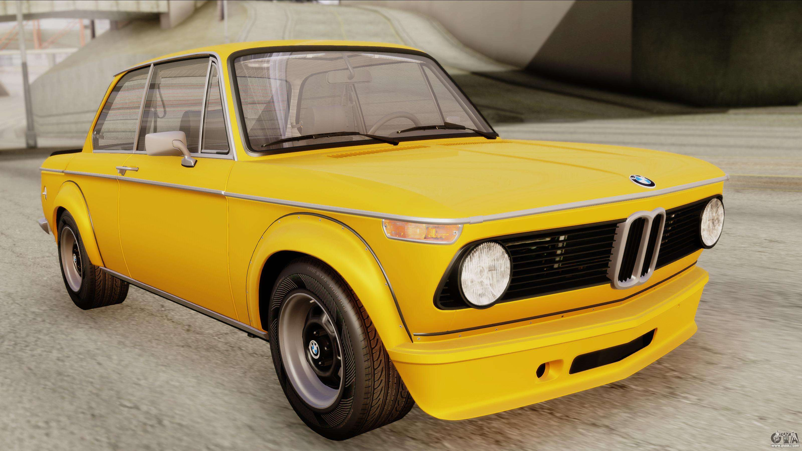 bmw 2002 turbo 1973 stock for gta san andreas. Black Bedroom Furniture Sets. Home Design Ideas