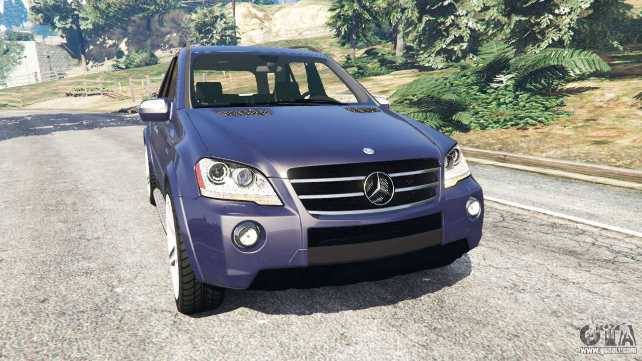 Mercedes benz ml63 w164 2009 for gta 5 for Mercedes benz w164