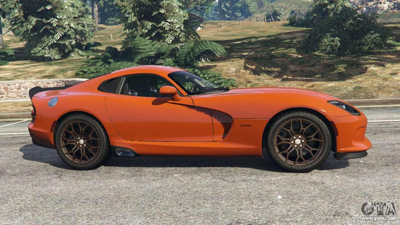 2016 Dodge Journey >> Dodge Viper SRT 2014 for GTA 5