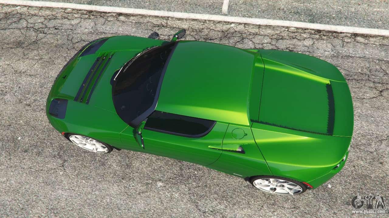 Tesla Roadster Sport 2011 For Gta 5