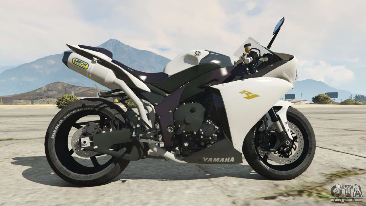Yamaha yzf r1 2014 for gta 5 for Yamaha r1 2014