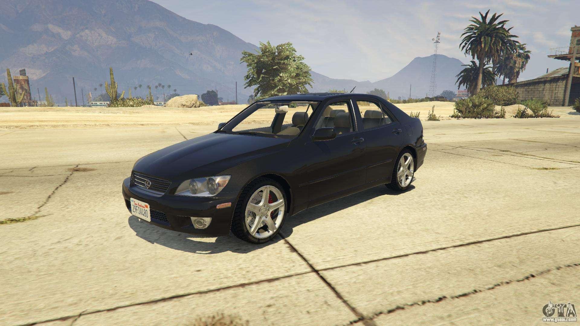 Lexus Is300 Tunable 1 0 For Gta 5