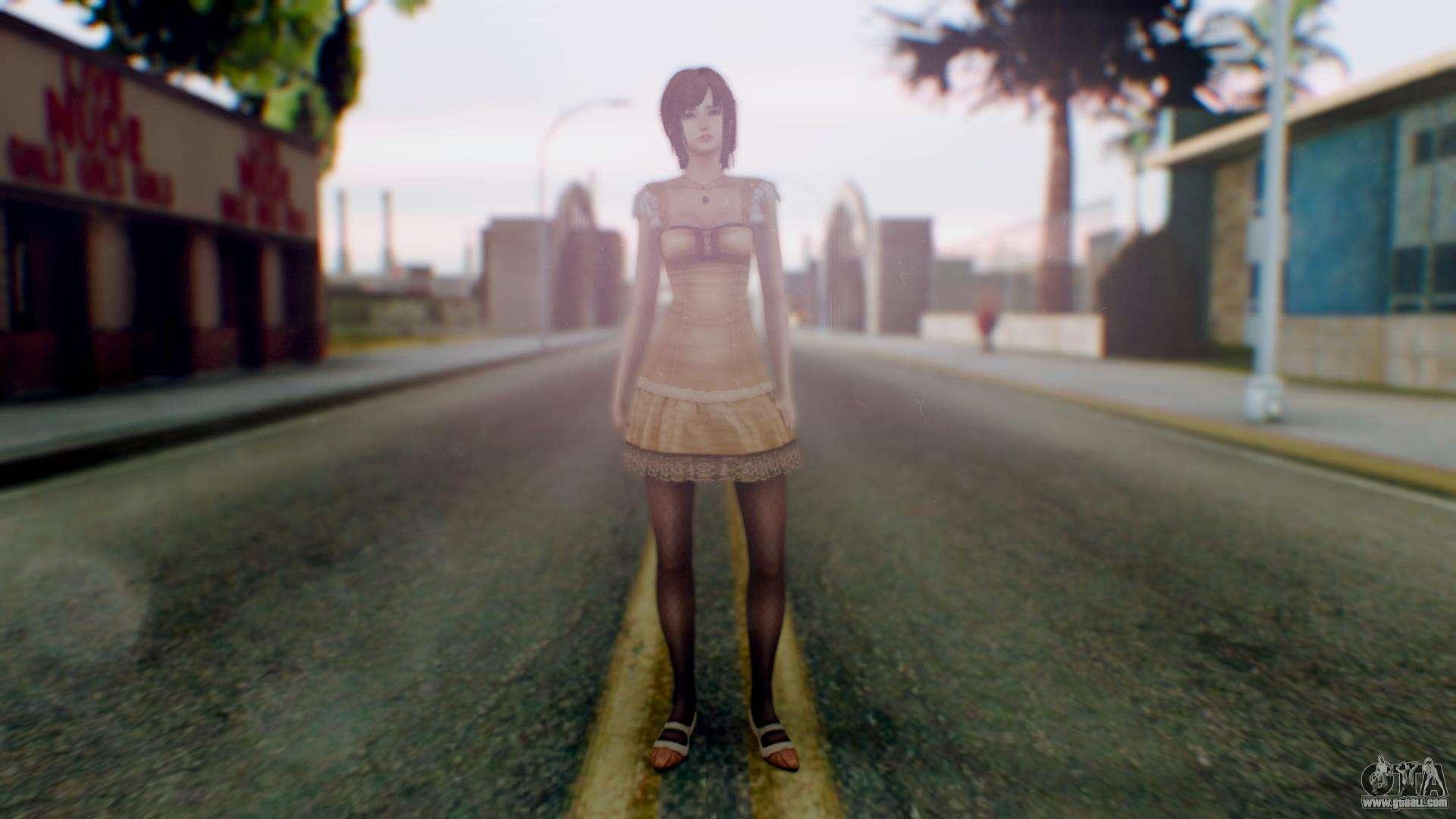 Fatal Frame 4 Ruka for GTA San Andreas