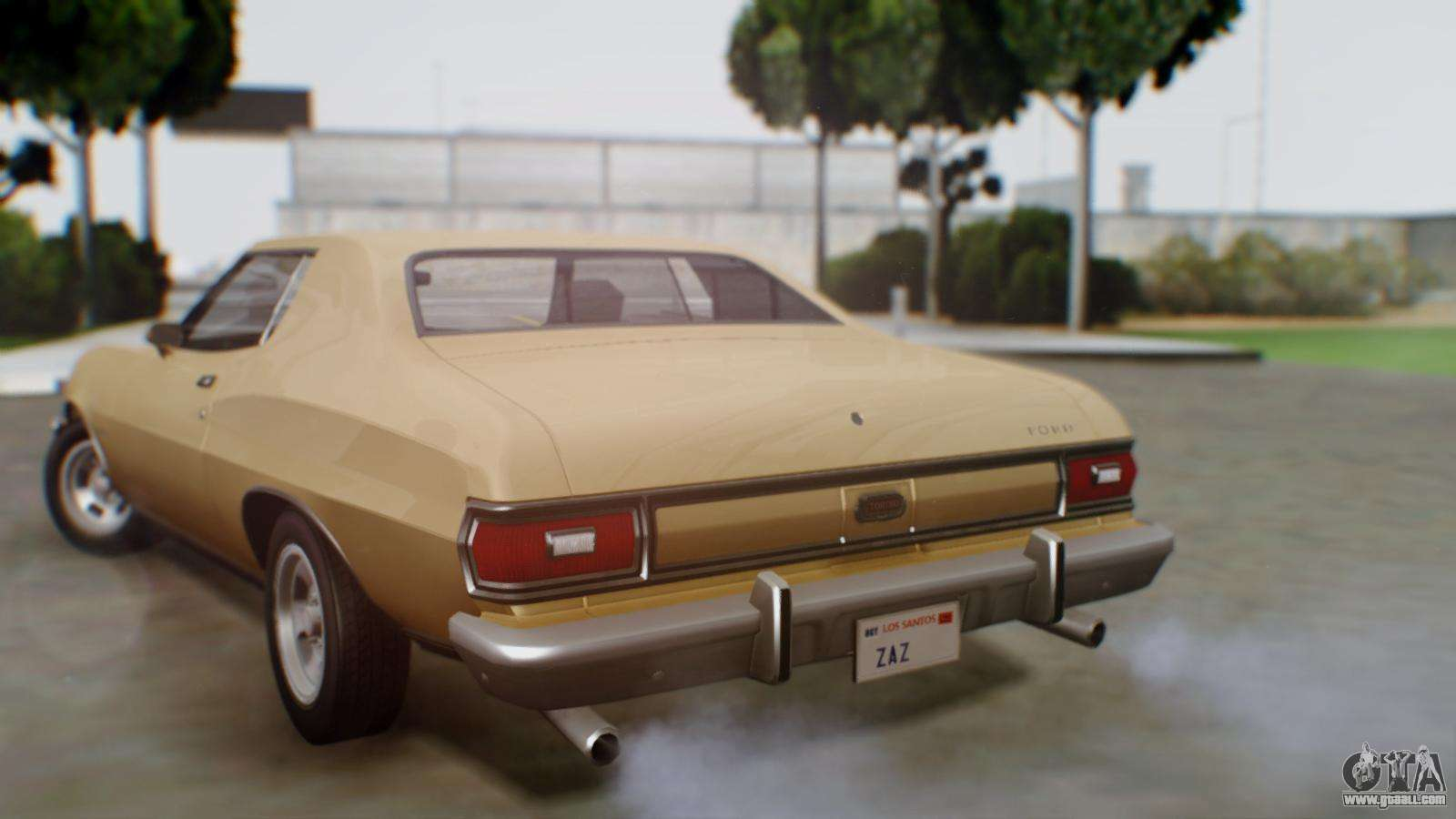 ford gran torino 1974 for gta san andreas. Black Bedroom Furniture Sets. Home Design Ideas