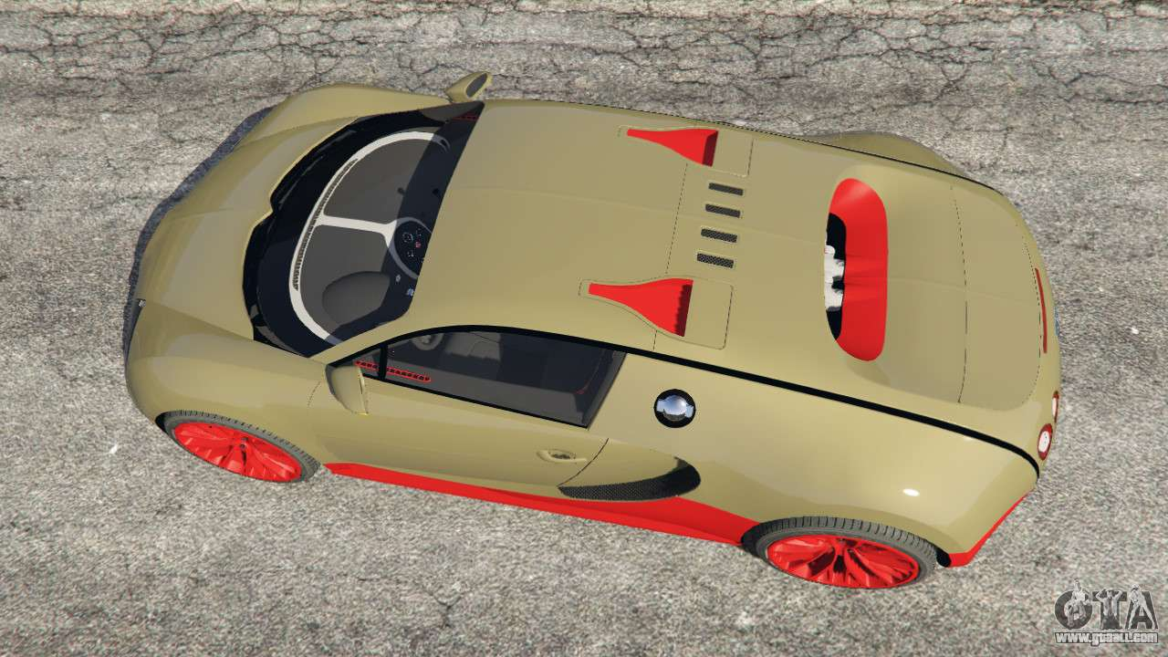 bugatti veyron super sport for gta 5. Black Bedroom Furniture Sets. Home Design Ideas