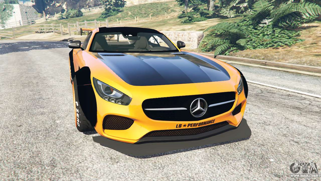 mercedes benz amg gt 2016 libertywalk for gta 5. Black Bedroom Furniture Sets. Home Design Ideas