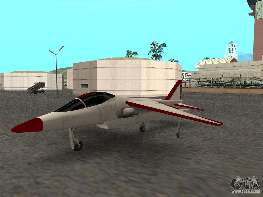 How to fly an airplane in GTA San Andreas How to fly a fighter in GTA San Andreas