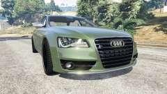 Audi S8 Quattro 2013 v1.2 for GTA 5