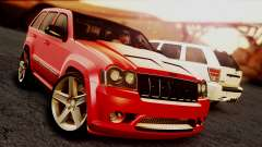 Jeep Grand Cherokee SRT8 Final version for GTA San Andreas