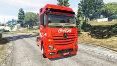 Mercedes-Benz Actros Euro 6 [Coca-Cola] for GTA 5