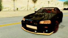 Nissan Skyline GT-R Nismo Tuned for GTA San Andreas