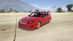 2011 Subaru Impreza STI for GTA 5