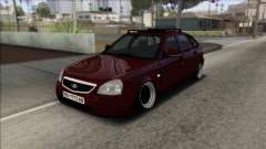 Lada Priora Ukrainian Stance for GTA San Andreas