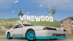 Elegy DRIFT KING GT-1 [2.0] (New wheels) for GTA San Andreas