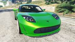 Tesla Roadster Sport 2011 for GTA 5