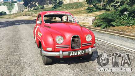 Saab 96 [rally] for GTA 5