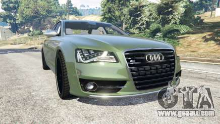 Audi S8 Quattro 2013 v1.2 for GTA 5