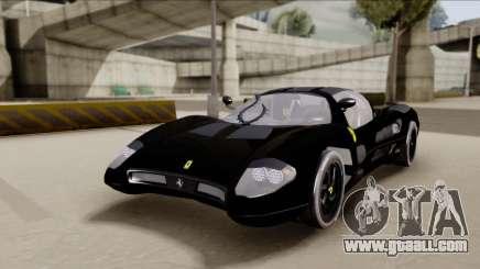 Ferrari P7-2 Shadow for GTA San Andreas