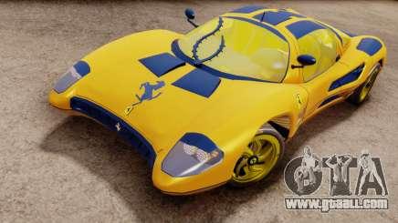 Ferrari P7 Gold for GTA San Andreas