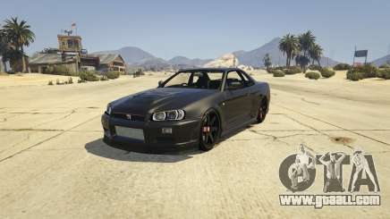 Nissan Skyline GTR R34 for GTA 5