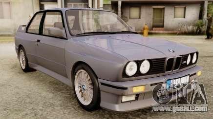 BMW M3 E30 1991 Stock for GTA San Andreas
