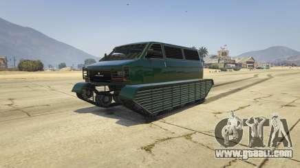 Police Transporter Tracked for GTA 5