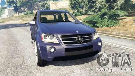 Mercedes-Benz ML63 (W164) 2009 for GTA 5