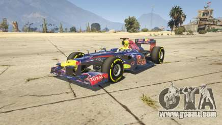Red Bull F1 v2 redux for GTA 5