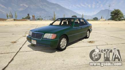 Mercedes-Benz S600 v1.1 for GTA 5