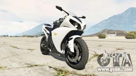 Yamaha YZF-R1 2014 for GTA 5