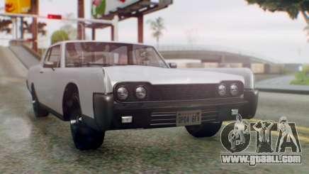 GTA 5 Vapid Chino Tunable IVF PJ for GTA San Andreas