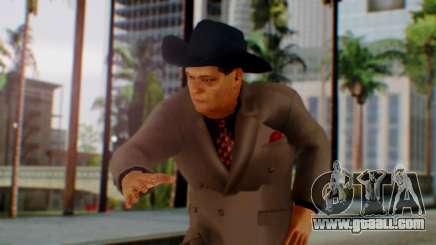 WWE Jim Ross for GTA San Andreas